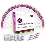 100 Pruebas de ovulación ultrasensibles (25mlU/ml), Easy@Home ...