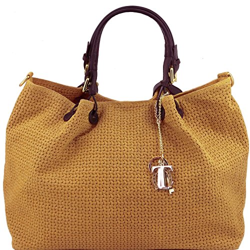 tuscany-leather-tl-keyluck-sac-shopping-en-cuir-imprime-tresse-moutarde-tl141150-104