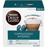 Nescafé Dolce Gusto Cappuccino Intenso, 6 x 16 Capsule