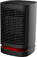 DH-QN05 Heizlüfter/Ventilator mit PTC Keramik Heizelement 950W / 650W / 5W, mit 90° Oszillationsfunktion,3 Temperatureinstellungen, Überhitzungsschutz, Sicherheit für das Büro & Zuhause - Schwarz