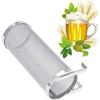 Zunate Filtre Bière,300 Microns Filtre Hopper Acier INOX de Bière,avec des Crochets,Résistant à la Corrosion et Facile à…