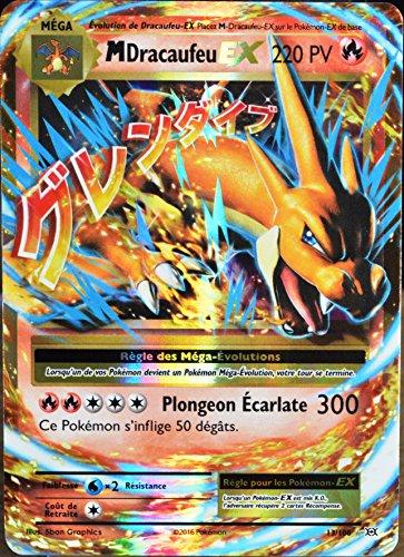 carte Pokémon 13/108 Méga Dracaufeu EX 220 PV