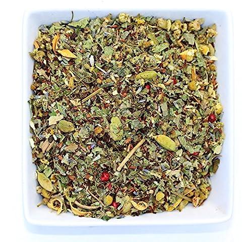 Tranquil Dream - Chamomile & Honeybush - Calming & Relax Tea - Organic- Herbal Loose Leaf Tea - Caffeine Free - Tealyra (110g / 4oz)
