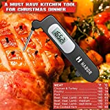 Habor Instant Read Cooking Thermometer, Digital Food Thermometer with Foldable Probe for Candy, Chocolate, Grill, Water