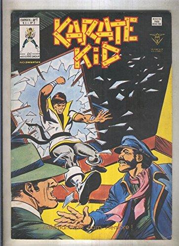 Karate Kid numero 7 (numerado 1 en trasera)