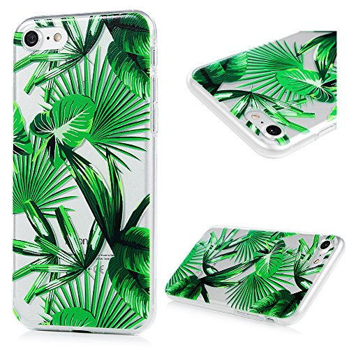 iPhone 7 Funda TPU Silicona Suave Ultra Delgada Transparente,YOKIRIN Carcasa Pintada Cubierta Dibujos Case para iPhone 7 4.7 Pulgadas Completa Protección para Choques - Hoja 2