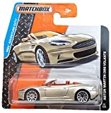 Matchbox Aston Martin DBS Volante Gold-metallic Cabrio Convertible - MBX Adventure City