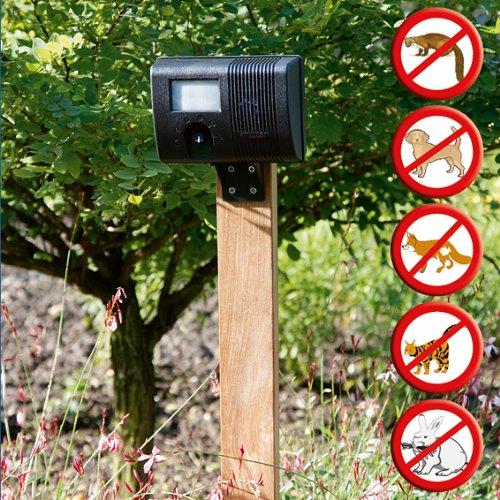 Ultraschall Vertreiber Gartenschutz Marderabwehr Katzenabwehr Hundeabwehr