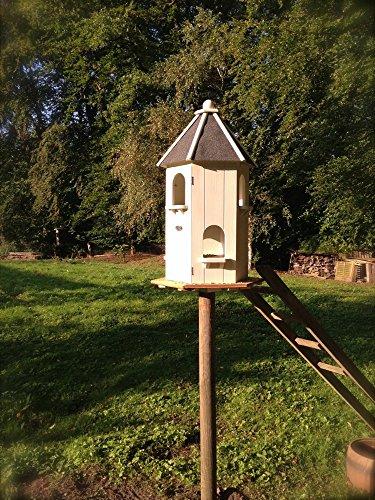 Antikas - Taubenhaus - dekoratives Futterhaus für Tauben, Taubenschlag - Pfauenschwänzchen (Taube-nistkästen)