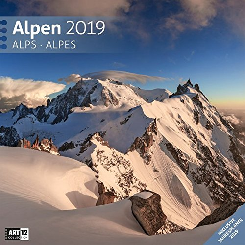 Alpen 2019 Broschürenkalender por Ackermann Kunstverlag
