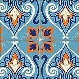 Elise pc332663 marokkanische Kachel Papier Party Mittagessen Servietten MOSAIK (16er Pack, mehrfarbig)