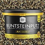 Buntsteinputz schwarz/braun/creme/ocker 20kg