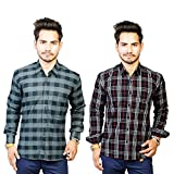 Trendster Tremend Full Sleeve Checkered ...