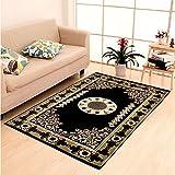 #10: Home Elite Ethnic Velvet Touch Abstract Chenille Carpet - 55
