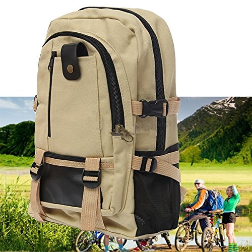 Outdoor-Camping-Reisen Wanderrucksack Rucksack Tasche Schwarz