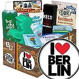 I love Berlin | Berlin Geburtstag Geschenk | Pflege Geschenkset DDR