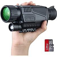Vision Nocturne monoculaire numérique Scope 5x40mm Infrarouge HD Chasse caméra caméscope 5mp Photo 1080p vidéo jusqu'à…