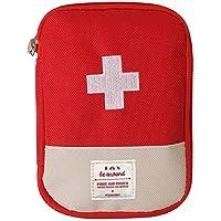 EQLEF Mini Trousse de Secours Vide, Sac d'emballage de Drogue de Sac de Stockage de médecine Portable de pour Le Voyage…