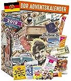 DDR ADVENTSKALENDER I Geschenkset ehemalige Ostprodukte I Adventskalender mit Süßigkeiten aus der DDR I DDR Ostalgie I Geschenkideen DDR I Geschenkbox...