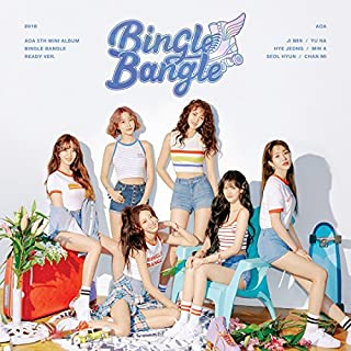FNC AOA - BINGLE BANGLE [Ready ver.] (5th Mini Album) CD+Booklet+Sticker&Postcard Set+Photo Card+Folded Poster+Free Gift