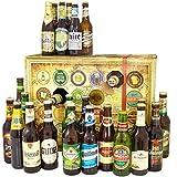Bier Adventskalender Welt und Deutschland mit Miller + Kilkenny + Löwenbräu + mehr ... Ein tolles Geschenk für Männer. Bierset + Geschenk, Biersorten aus aller WELT & DEUTSCHLAND. Bieradventskalender 2017 - mit 24 Biersorten in FLASCHEN Adventskalender Bier Welt 2017 - Adventskalender für Männer, Adventskalender für Erwachsene, Bierkalender Adventskalender Alkohol, Weihnachtskalender mit Bier, Bier Adventskalender Weihnachtsgeschenke Bier Männer