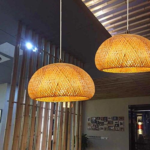 Creative manualmente lampada di bambù Asiatico alla moda le scatole ponte giapponese lampade a Sospensione - Gunmetal Moda