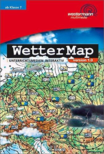 WetterMap / Programm zur automatischen Darstellung des Wetters: WetterMap: Einzelplatzlizenz