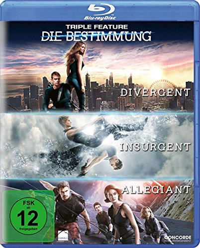 Die Bestimmung - Triple Feature [Blu-ray]