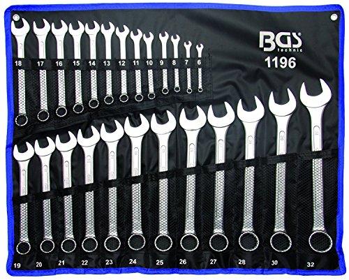 BGS 1196Combination Spanner Set 6-32mm Standard 3113A, 25Pieces