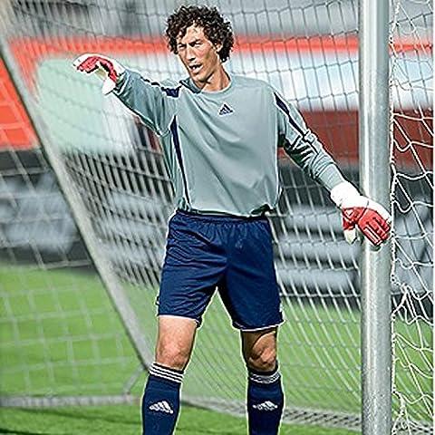 adidas Performance Freno Mens fútbol camiseta de portero acolchada–gris–XL
