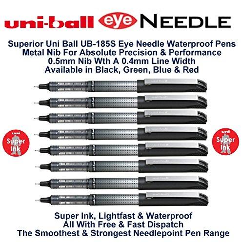 uni-ball-schwarz-05-mm-spitze-04-mm-strichbreite-eye-tintenroller-nadelspitze-farbe-stift-wasserfest