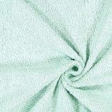 Fabulous Fabrics Frottee 1 – mintgrün — Meterware ab