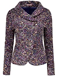 Joe Browns Women's Smart Boucle Jacket Shawl Collar