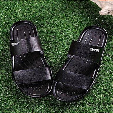 Stivali inverno delle donnecasuali zeppa piuma Heel PU sandali US10.5 / EU43 / UK9.5 / CN45