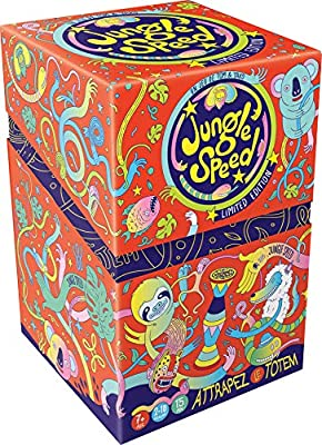 Asmodee- Jungle Speed-Edition Bertone, JSBERT01FR, Jeu D'ambiance