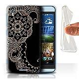 Stuff4 Gel TPU Hülle / Hülle für HTC Desire Eye LTE /