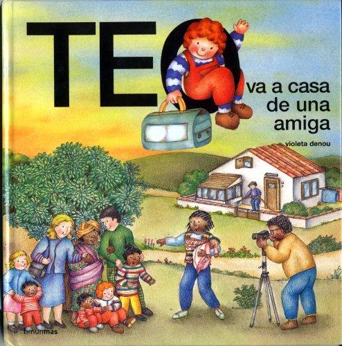 Teo va a casa de una amiga por Violeta Denou