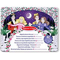 Melissa & Doug Dance All Night Magnetic Tin Dress-Up Set - 40 Magnets Store in Travel Case