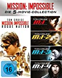 Mission Impossible 1-5 Box (Blu-ray) - Mit Tom Cruise, Jeremy Renner, Simon Pegg, Rebecca Ferguson, Ving Rhames