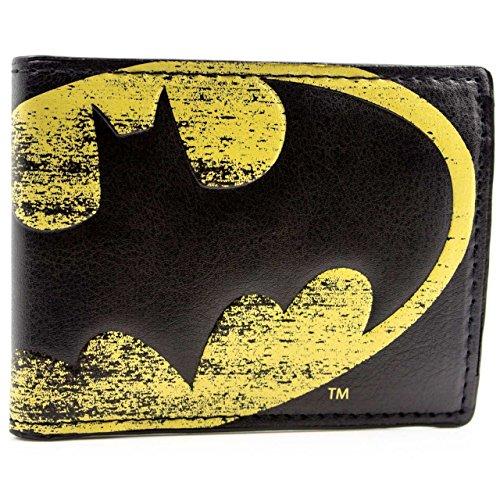 DC Comics Batman Simbolo della luce Nero portafoglio