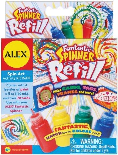 Alex Toys 673943 1.35oz Fantastic Spinner Refill - 4-Package by ALEX Toys (Refill Alex Toys)