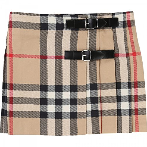 burberry-jupe-classic-check-10-jahre-beige