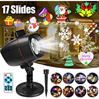 Christmas Projector Lights, Outdoor Christmas Lights InnooLight Waterproof 17 Patterns Light Show, Holiday Lights for 7 Themes- Christmas, Birthday, New Year, Valentine's Day, Easter, Party, etc.