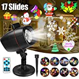 Christmas Projector Lights, Outdoor Christmas Lights InnooLight Waterproof 17 Patterns Light Show, Holiday Lights for 7 Themes Christmas, Birthday, New Year, Valentine's Day, Easter, Party, etc.