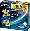 TDK Blu-ray BD-R Disk | Super Hard Coating Surface 50GB (DL) 6x Speed 10 Pack (Japan Import)