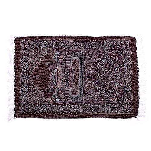 Rosepoem Moslemischer Gebetsteppich Moslemische Gebetsteppiche Velvet Classic Islam Mat Multi Color Türkischer Salat Islamisch -