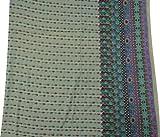 Crafting Stoff Beige Baumwollblumen Indische Kleidung Kleid
