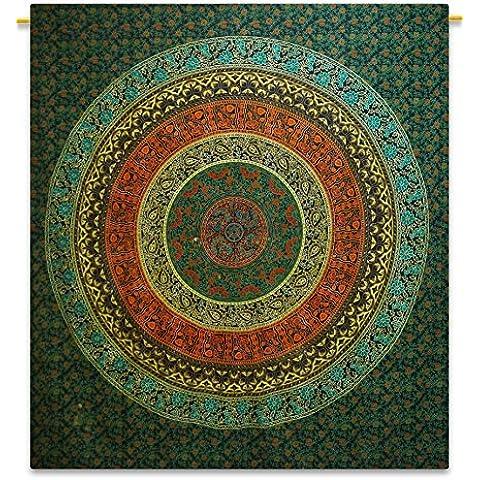 Handicrunch Mandala Beach Blanket Size Bohemian Tapestry