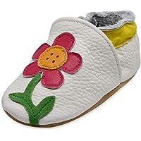 iEvolve Bébé Filles Bébé Garçons Chaussures Cuir Souple Enfant Chaussures