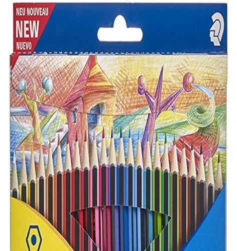Staedtler Farbstift Malbuch Stifte für Ihr Workbook Hinweis Pack STAEDTLER Ergosoft Buntstifte, Bekannte und beliebte Marke mit lebendigen Farben und Breite Auswahl für alle Jahreszeiten